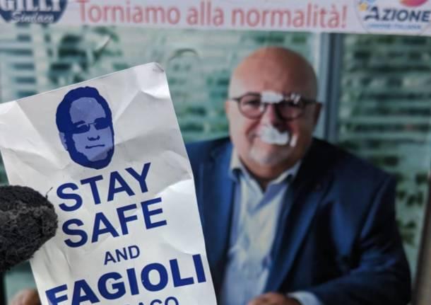 Manomessi i manifesti elettorali. A Saronno Gilli, Pd e Forza Italia presi di mira